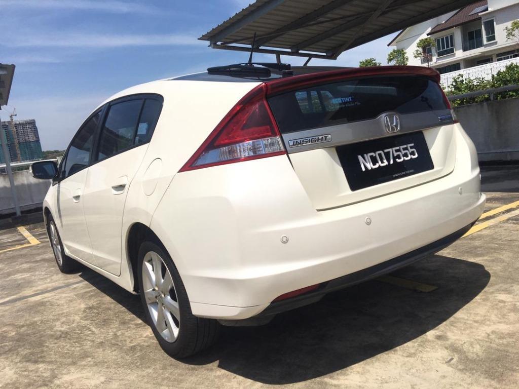 2012 Honda INSIGHT 1.3 (HYBRID) FACELIFT (A) Loan Kedai DP 2-3 K