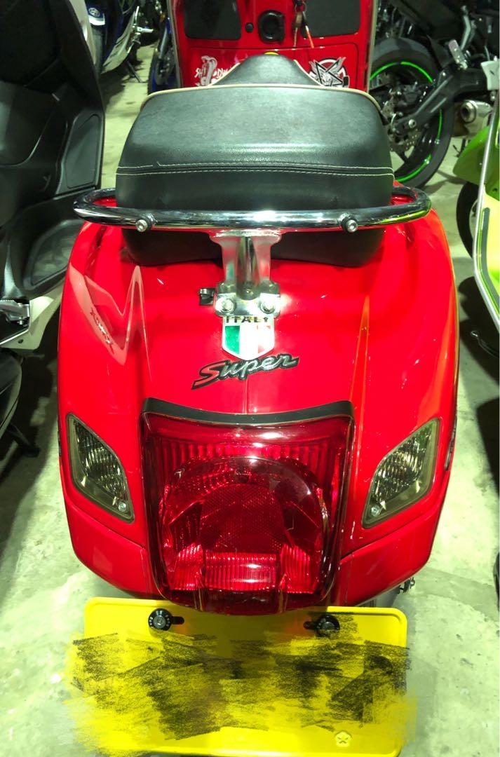 2016 偉士牌 Vespa GTS 300ie(黃牌重機)