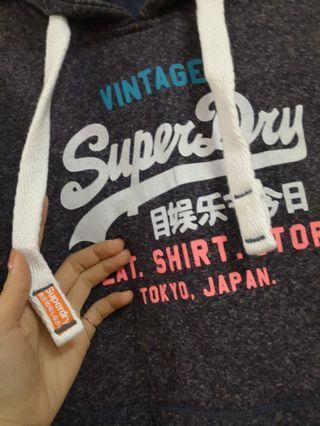 Superdry厚棉帽t