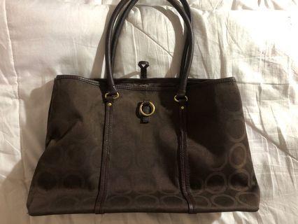 Sequoia Tote bag (dark brown)