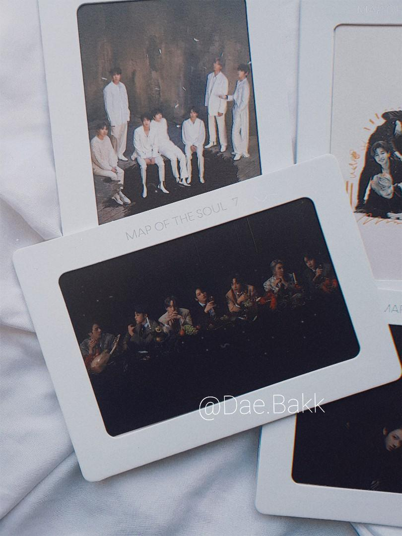 BTS Map Of The Soul 7 Official Aurora Frame + Store Benefit
