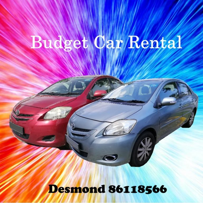 Cheap and Budget Car Rental - March Promotion Vios