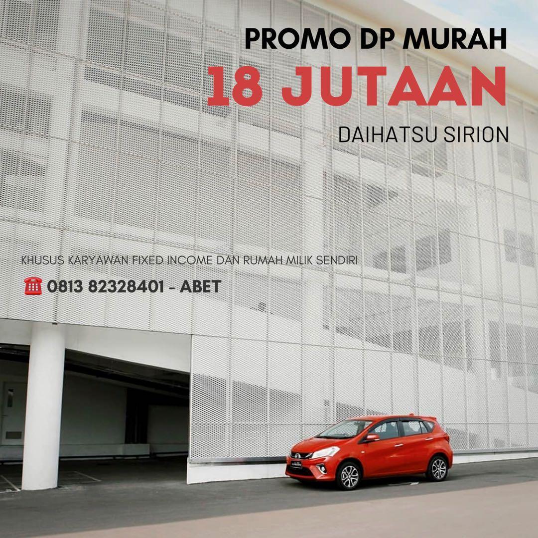 Daihatsu Sirion  DP MURAH mulai 18 jutaan. Daihatsu Pamulang