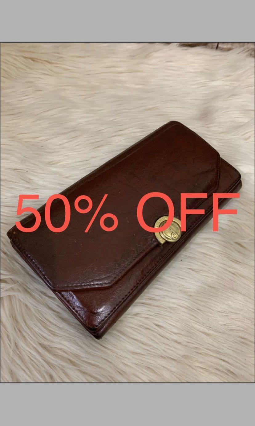Dompet Dunhill ladies vintage, full leather, kondisi 80% OK! Banyak sekat muat banyak!serius no php!!