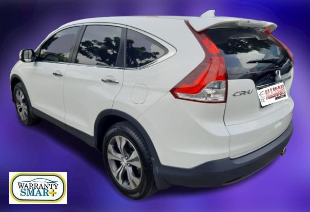 Honda CRV 2.400 Prestige Automatic 2013 Putih, Dp 51,9 Jt No Polisi Ganjil