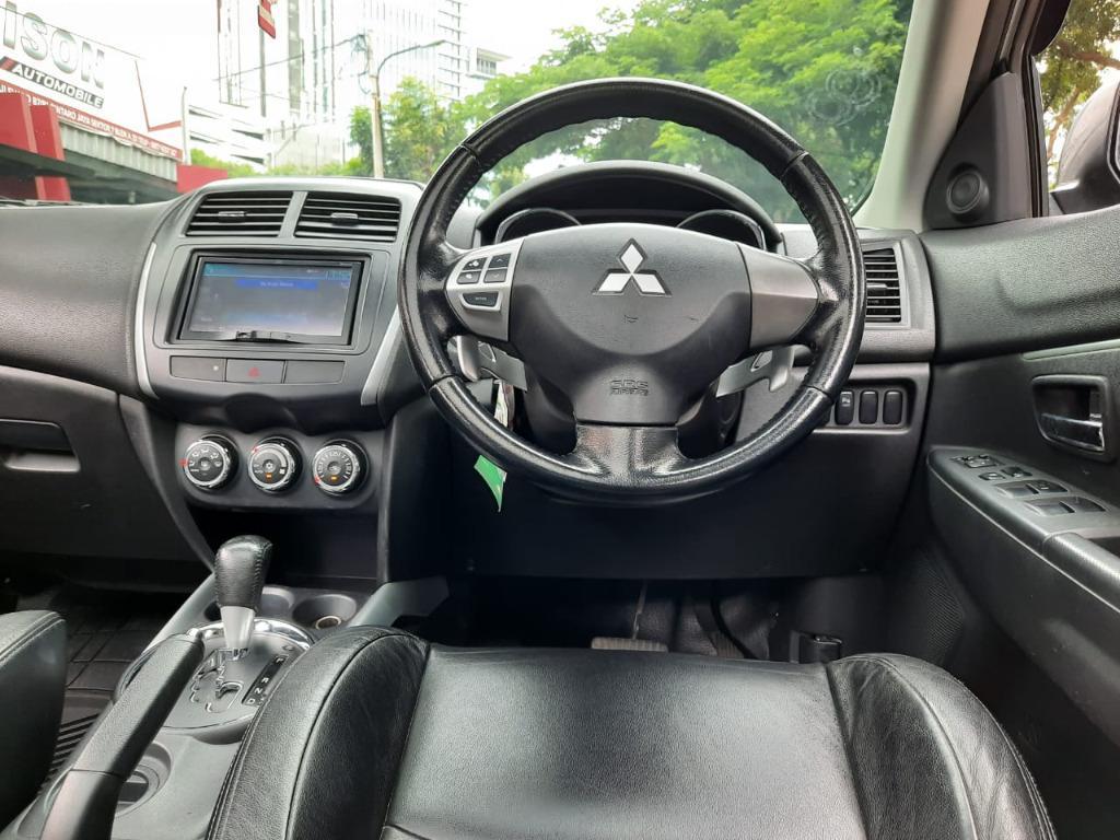 Mitsubishi Outlander PX 2.0 AT 2013 Putih, Dp 30,9 Jt, Panoramic,No Pol Ganjil