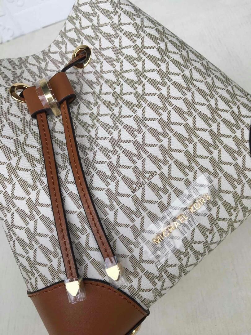 Original Mk presbyopic new bucket bag single shoulder twill portable inner pockets removable as a purse
