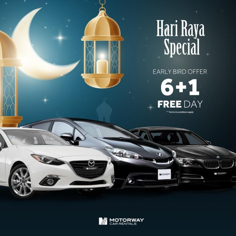 MWR Hari Raya Special offer, package starts from just $500!