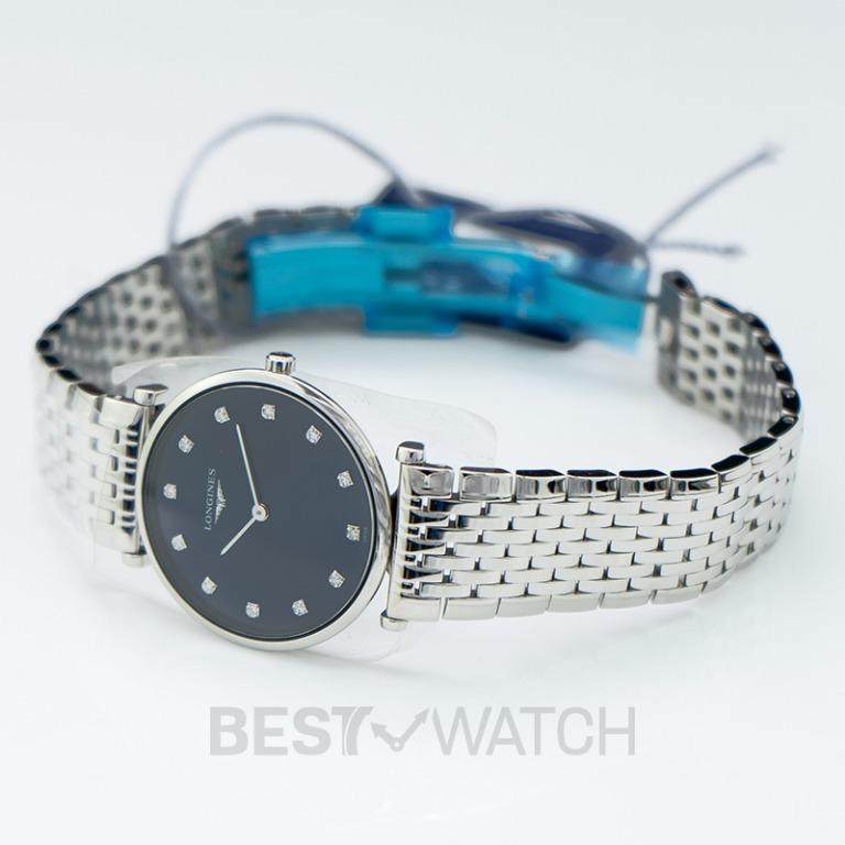 [NEW] Longines La Grande Classique de Longines Quartz Blue Dial Diamond Ladies Watch L45124976