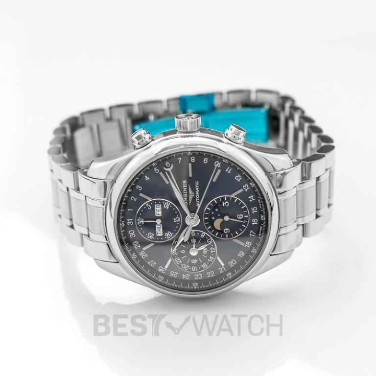 [NEW] Longines The Longines Master Collection Automatic Blue Dial Chronograph Men's Watch L27734926
