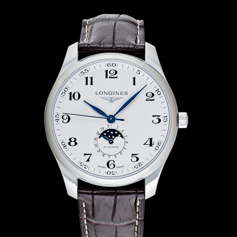 [NEW] Longines The Longines Master Collection Moonphase Automatic Silver Dial Men's Watch L29194783