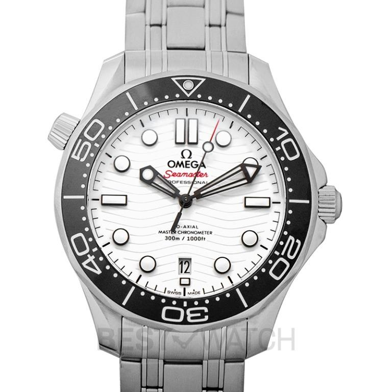 [NEW] Omega Seamaster Co‑Axial Master Chronometer 42 mm Automatic White Dial Men's Watch 210.30.42.20.04.001