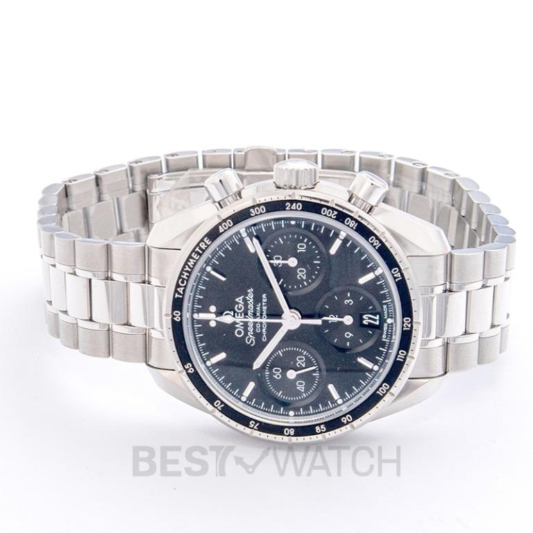 [NEW] Omega Speedmaster Co-Axial Chronograph 38mm Automatic Black Dial Steel Men's Watch 324.30.38.50.01.001