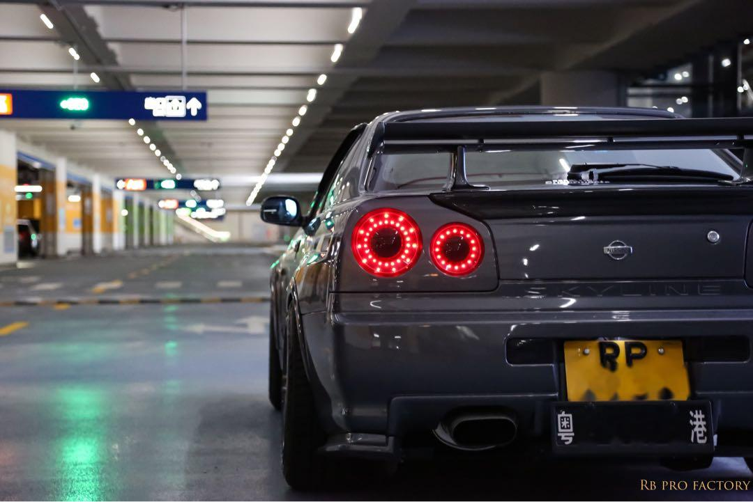 Nissan Skyline R34 GTT Manual