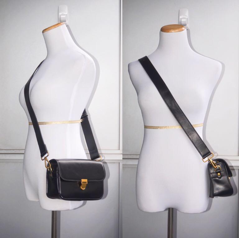 NWOT Genuine Leather Small Crossbody Messenger Bag