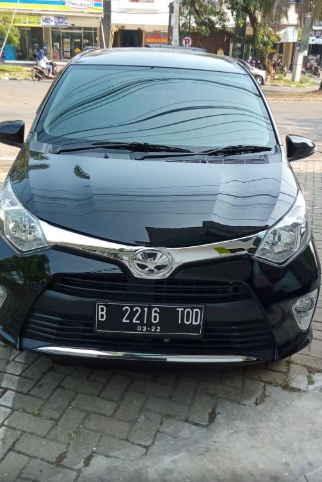 Overcredit Toyota Calya tipe G Automatic Tahun 2017