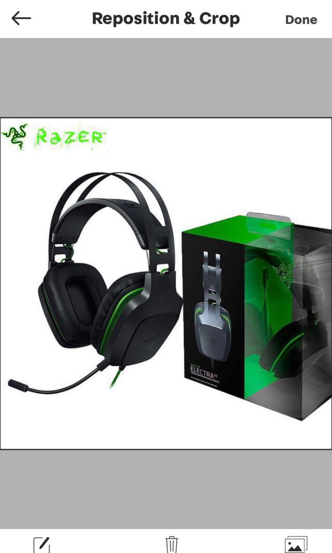 Razer Electra V2 And A Free Headphone Toys Games Video Gaming Gaming Accessories On Carousell