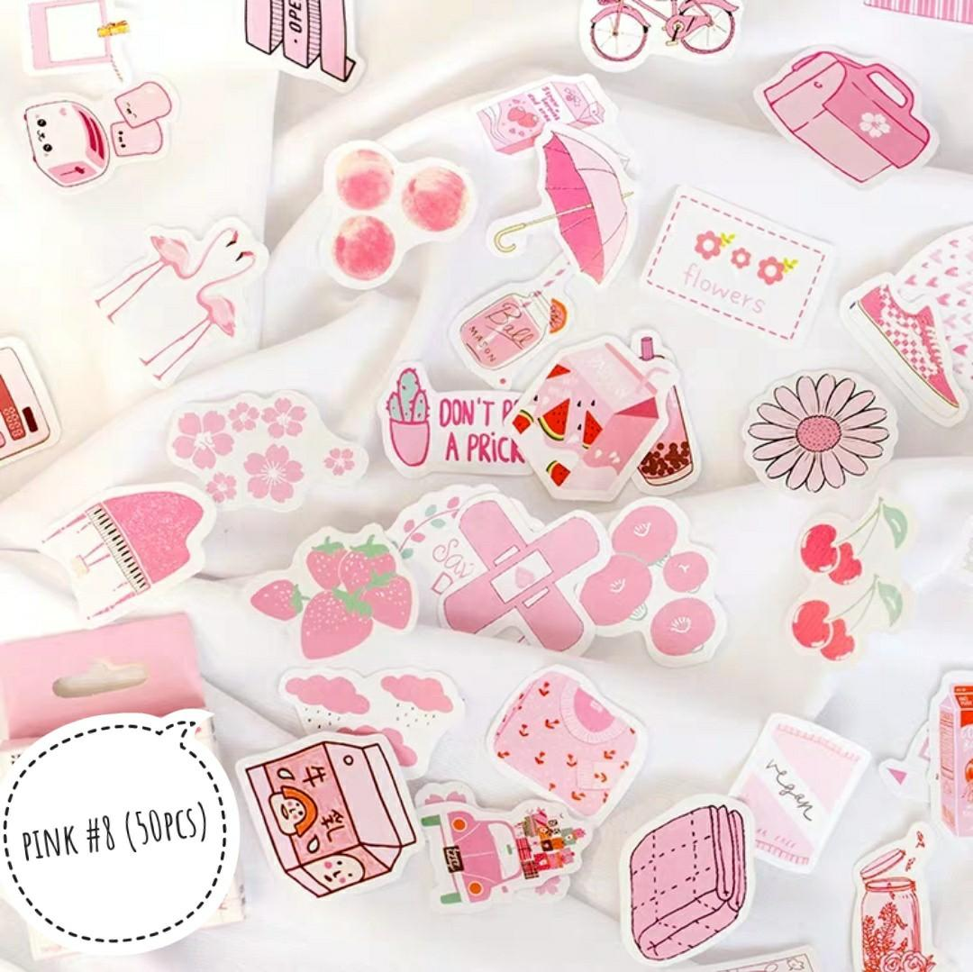 [S] (#9) All things pink stickers
