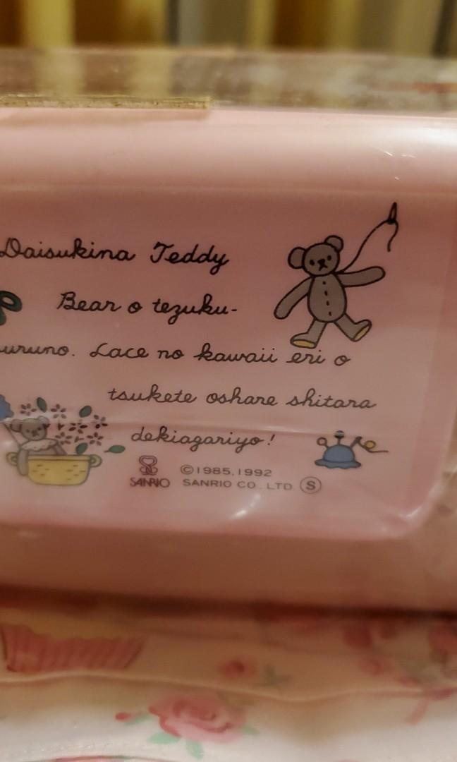 sanrio marron cream餐盒