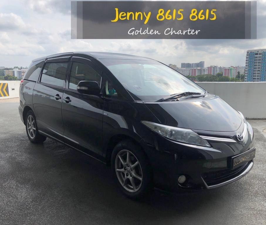 TOYOTA PREVIA MPV estima 7 seather stream wish grab gojek personal use rebete incentive