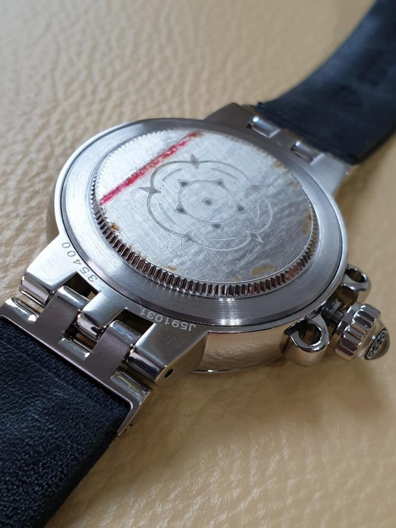 Tudor Clair de Rose Automatic Blue Mother of Pearl Dial Ladies - Full Set Cert Box!                                     Rolex Cartier Omega Iwc AP Chopard Tag Heuer