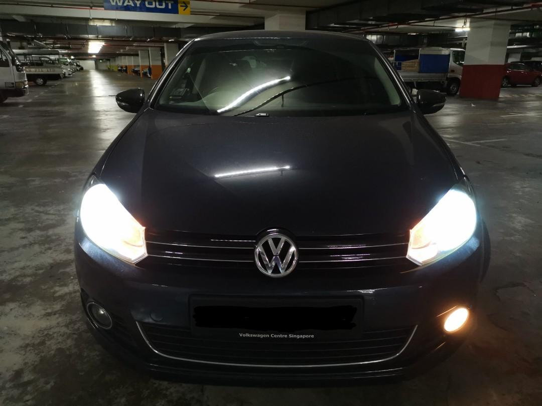 CHEAP & AFFORDABLE VOLKSWAGEN NEW GOLF 1.4 TSI AT FOR 3 MONTHS RENTAL @ $1,300 MONTHLY!! CALL 9299 4404 NOW !!