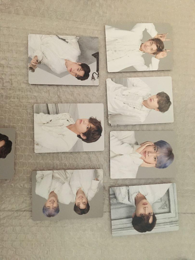 [wtt/wts] BTS loveyourself speakyourself mini photocard