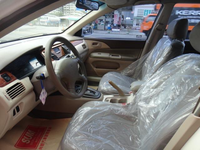 02 LANCER 菱帥1.6 白色~手自排.全額貸.車極美!