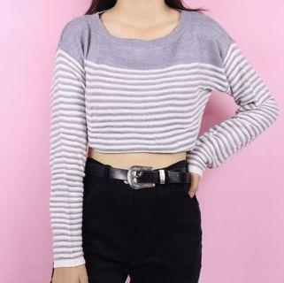 V41-GU Stripes Sweater
