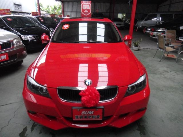 06 BMW 320i 2.0 紅~汎德公司車.小姐車.都停車庫.車極美!
