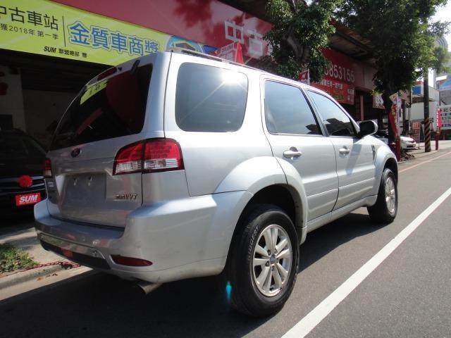 12 ESCAPE艾斯卡佩 2.3 銀4WD~上山下海的好伙伴~買ESCAPE就應買四傳!