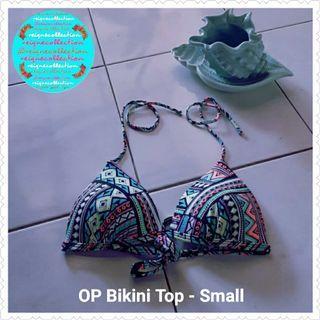 OP String Bikini Top - small