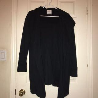 Aritzia thick hooded long sweater