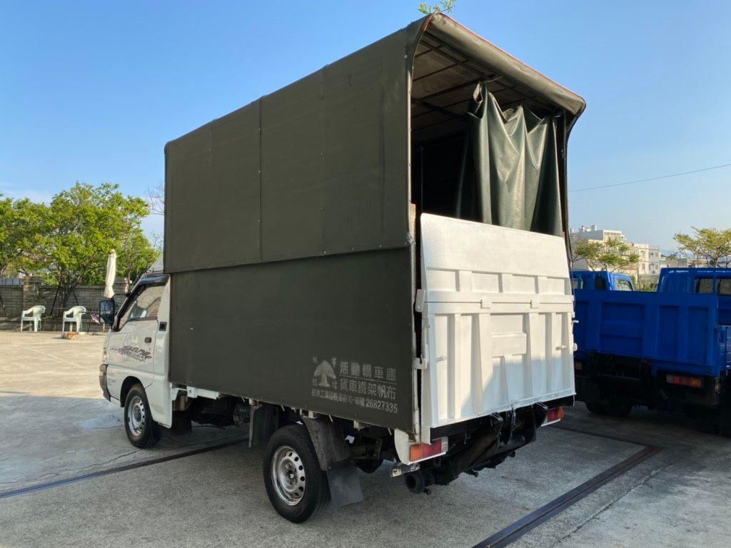 2011年 伸縮帆布 升降帆布 中華得利卡 DELICA 2.4L 升降尾門 昇降機 尾門貨車 二噸半 2.7噸 得利卡貨車 中華貨車 中古貨車
