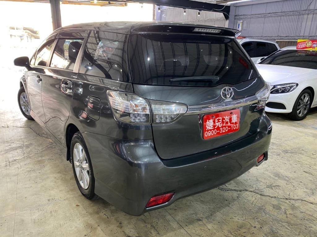 正2014年 最新款2.5代七速Toyota Wish 2.0E  破盤價33.8萬