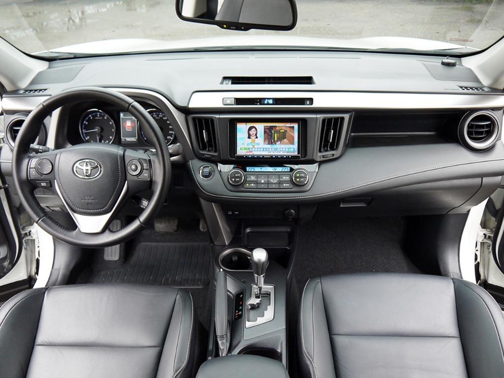 2016年 小改款 RAV4 2.0 頂級 一手車 原鈑件 全額貸款