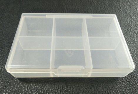 🇹🇼【台灣製造】Made in Taiwan 6 cases pill box六格錠片盒 藥盒 維他命盒 小物收納盒