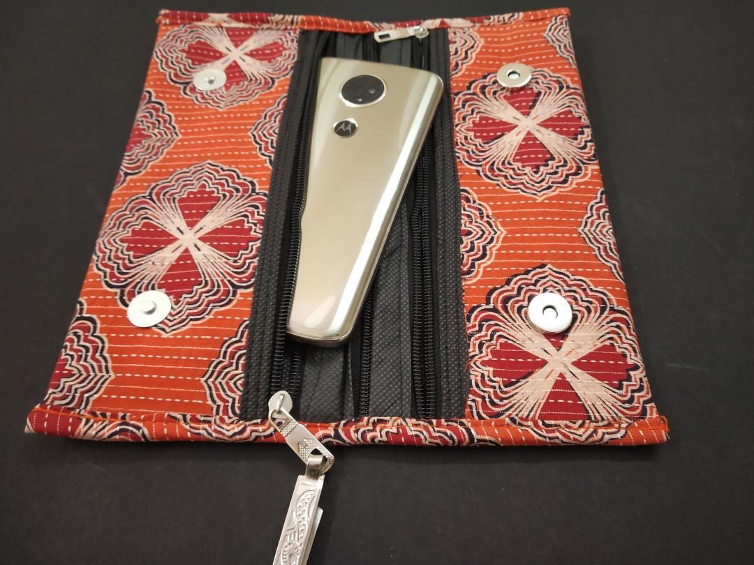 50 pcs Indian Handmade Blockprint Kantha Clutch purse Pouch Wedding Favor Return Gift For Guests