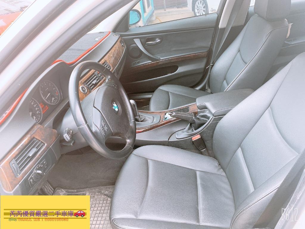 芮芮優質嚴選二手車庫/BMW 320I 2.0/白/2006