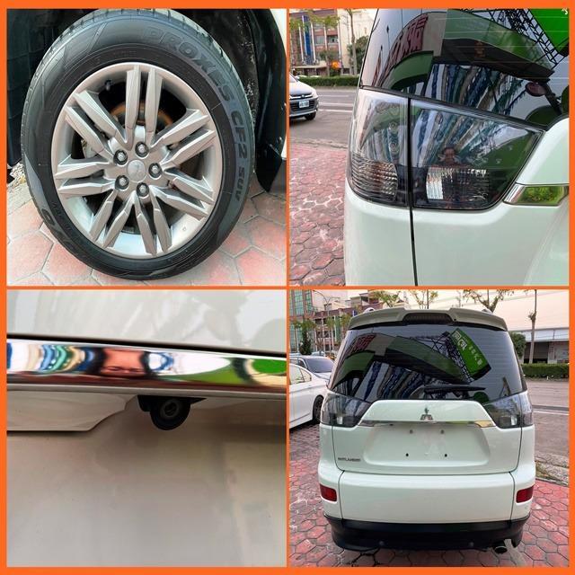 三代精緻型休旅車 2014 三菱 奧蘭德 2.4 白 MITSUBISHI  OUTLANDER