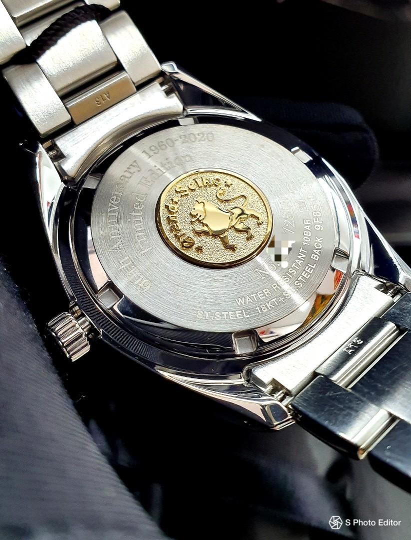 * FREE DELIVERY * Brand New 100% Authentic Grand Seiko 60th Anniversary Limited Edition Quartz Men's Dress Watch SBGP007