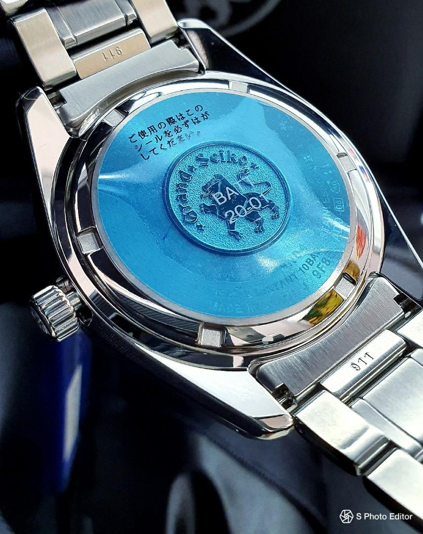 * FREE DELIVERY * Brand New 100% Authentic Grand Seiko Blue Dial Quartz Men's Dress Watch SBGP005