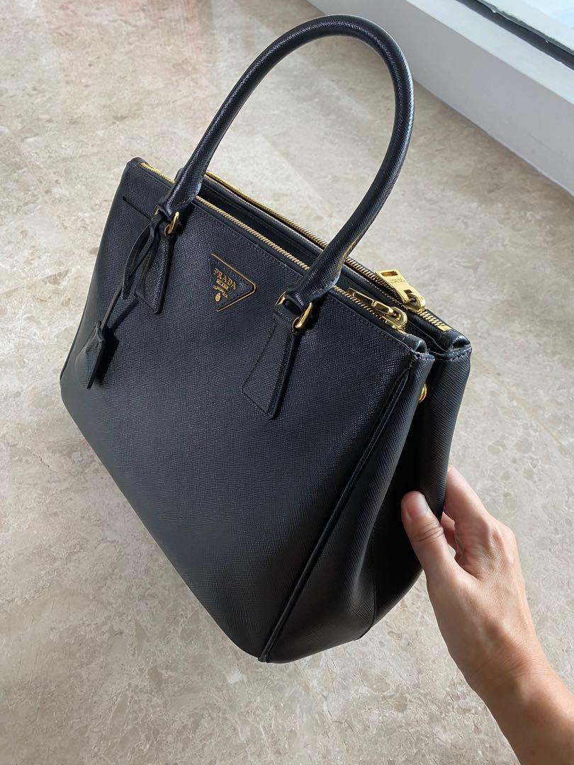 Authentic Prada and Louis Vuitton bag - lightly used. Price negotiable as I have few bags on sale