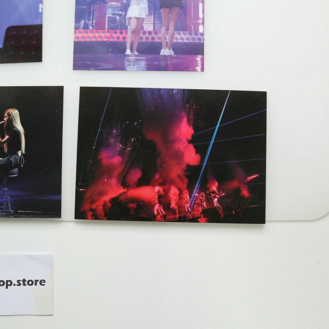 BLACKPINK 2018 WORLD TOUR IN YOUR AREA SEOUL DVD Postcard SET