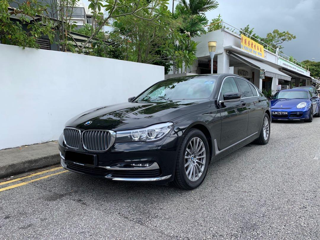 Cheap BMW 7 Series / Mercedes S Class rental / lease