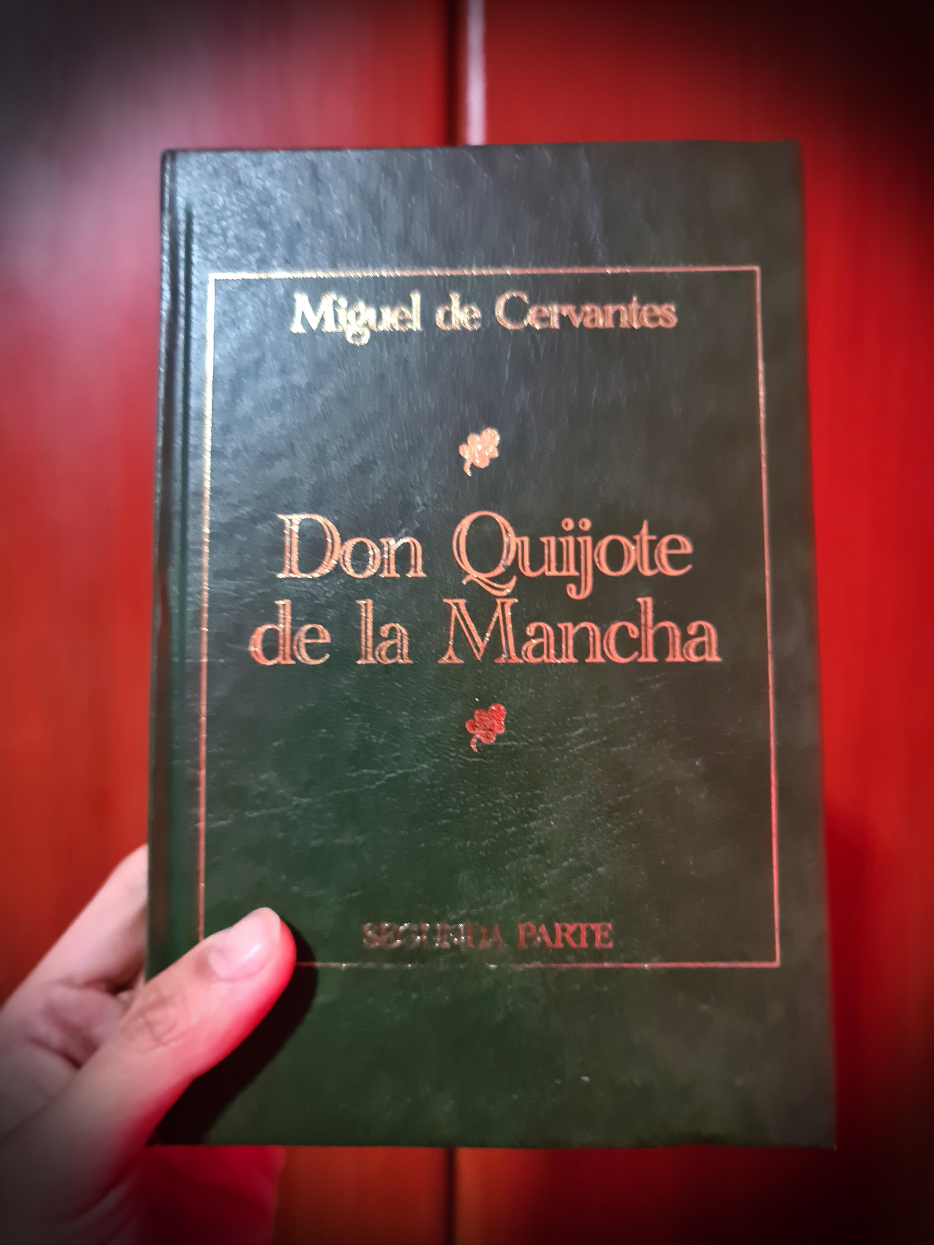 Don Quijote de la Mancha (2nd part/Spanish version) by Miguel de Cervantes
