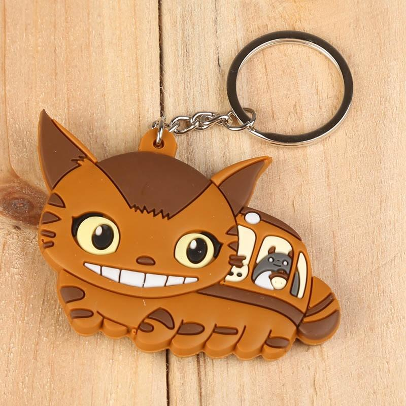 *Free Postage* My Neighbour Totoro Cat Bus Figures Key Chains Pendants Toys