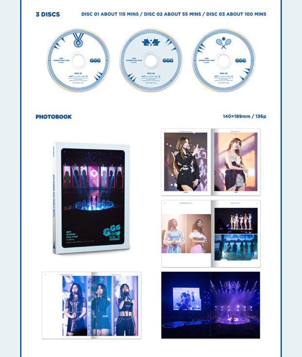 [GROUP ORDER] 2019 GFRIEND ASIA TOUR [ GO GO GFRIEND! ] in SEOUL DVD