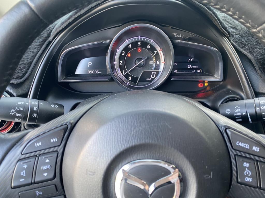 Mazda 2016年 CX3 白色 跑8萬9