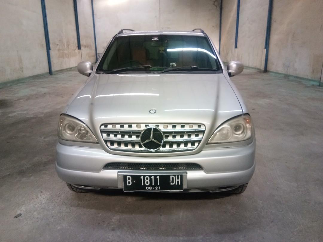 Mercy Mercedes Benz ML320 2001 AT Automatic Bulan 8 Plat B Dki Mulus Sangat Terawat